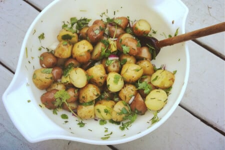 Lovely Herb Potato Salad Recipe thumbnail