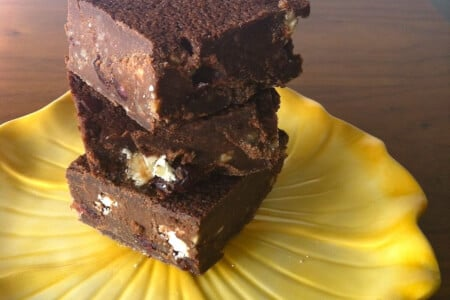 Quinoa Goat Cheese Brownies thumbnail
