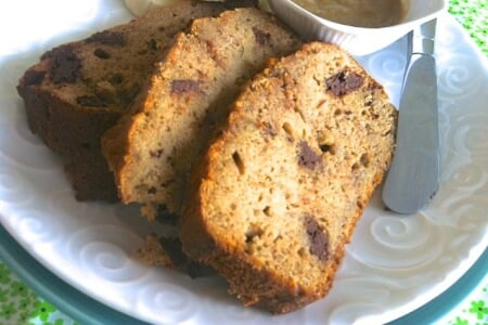 Quinoa Chocolate Chunk Banana Bread (Gluten-Free Recipe) thumbnail